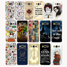 Buy 259CA Pretty interesting Harry Potter Transparent Hard Case Galaxy 2015 A3 A5 A7 A8 Note 2 3 4 5 J5 J7 & Grand 2 & Prime for $1.71 in AliExpress store