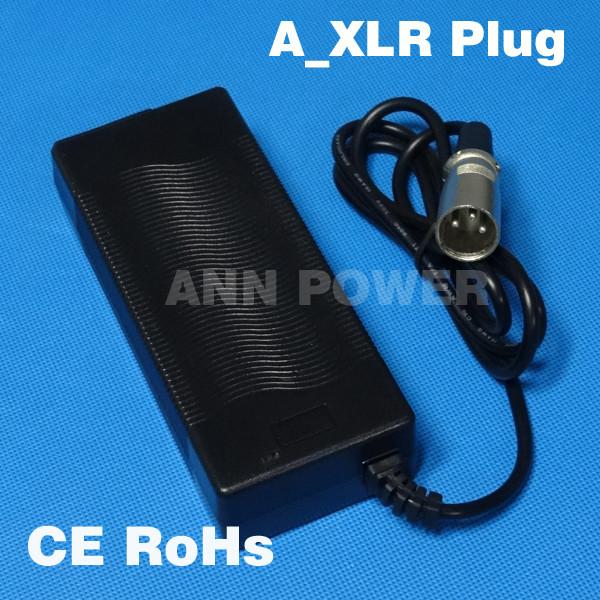 ถูก จัดส่งฟรี! 36โวลต์2A LiFePO4ชาร์จแบตเตอรี่เอาท์พุท43.8โวลต์2Aชาร์จที่ใช้สำหรับ12วินาที36โวลต์8Ah 10Ah 12Ah lifepo4แบตเตอรี่ชาร์จ