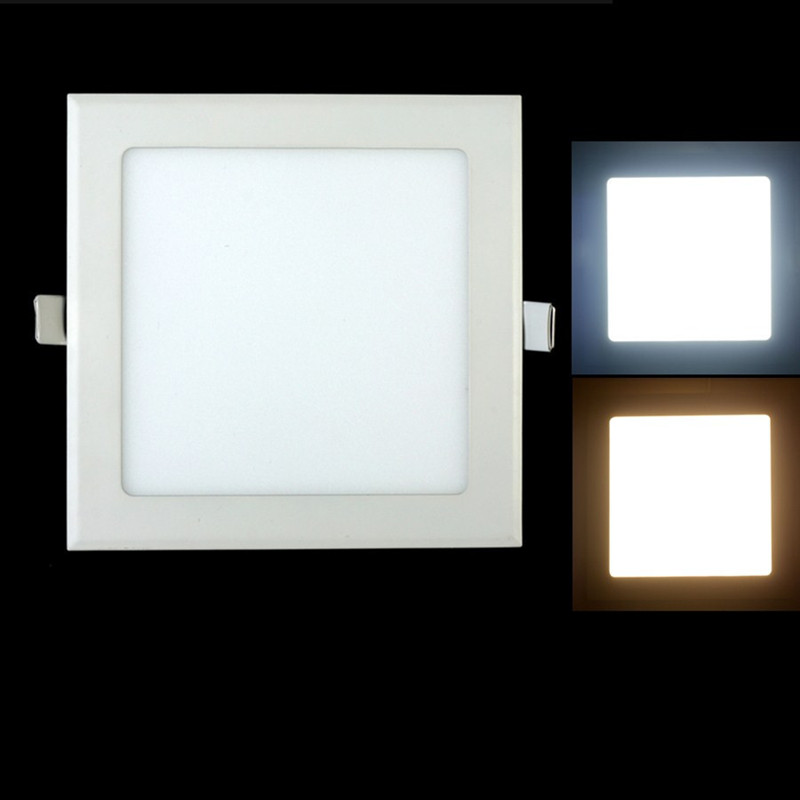 10PCS-2015-Dimmable-Led-Panel-light-Square-3W-4W-6W-9W-Ceiling-light-High-bright-For__