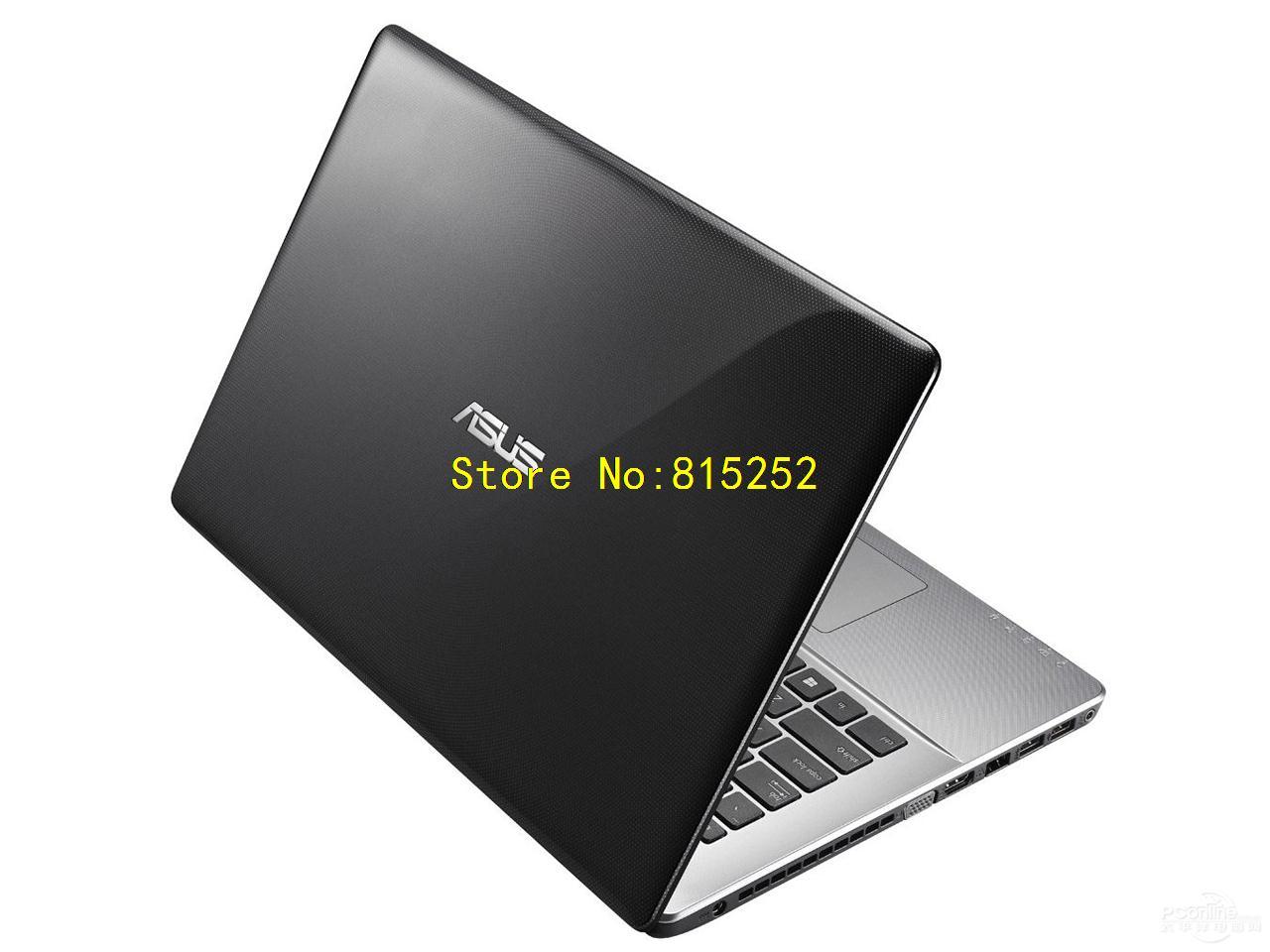 Laptop Top Cover Silver For Asus N550 N550JA N550JK N550JV N550LF N550JX Used(China (Mainland))