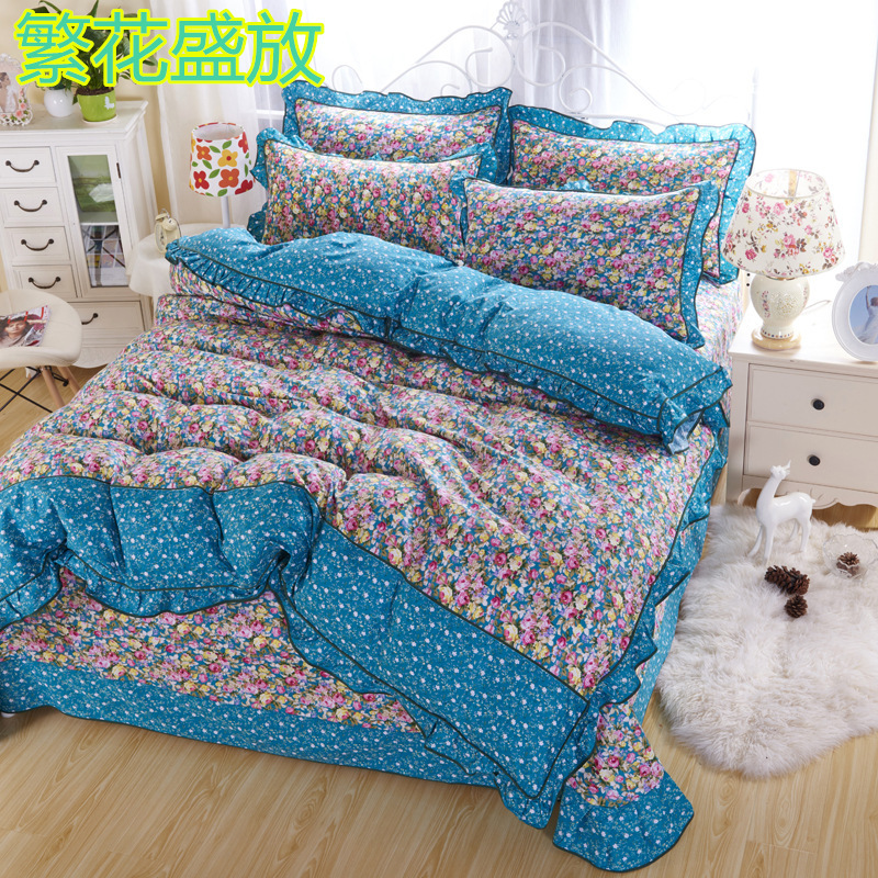 100 Bed Sheets Cotton Plaid Bedding Sets Plaid King Duvet Cover Cotton Desinger Bed Lines Bed Cover Linen Home Bed(China (Mainland))