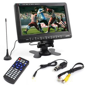 9.8'' LCD Car Video Player full TV system Monitor Car SD MMC AVI IR Monitor Mirror Mini TFT LCD Analog TV Car Monitor(China (Mainland))