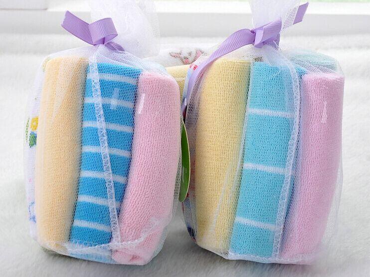 8pcs/bag Multifunction Cotton Baby Towels Infants Handkerchief Washcloth(China (Mainland))