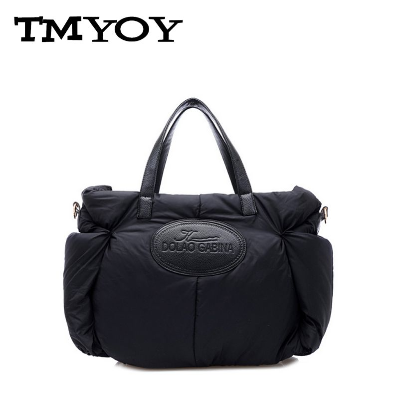 TMYOY Hot sale!Fashion nylon cotton letter print women shoulder bags space women handbags 3 colors casual tote bag ladies AA660(China (Mainland))