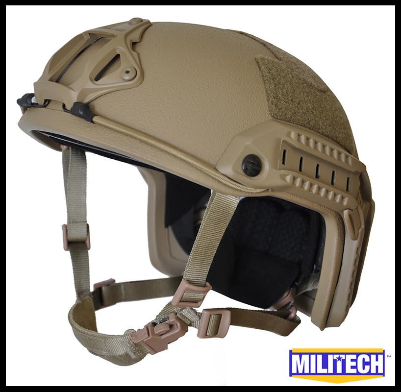 S/M CB Deluxe OPS-Core Maritime NIJ level IIIA CB FAST Bulletproof Helmet / Coyote Maritime FAST Bullet Proof Ballistic Helmet(China (Mainland))