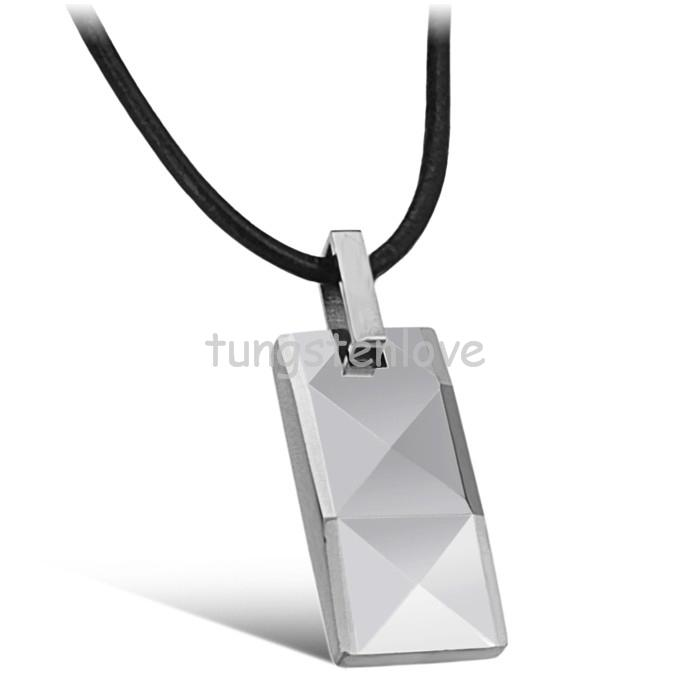 Fashion Silver Gold Color Tungsten Carbide Power Healing Magnetic Balls Dog tag Pendant Necklace For Men Women(China (Mainland))