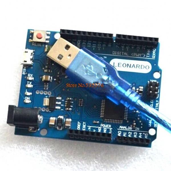 Leonardo R3 development board Board + USB Cable compatible for arduino(China (Mainland))