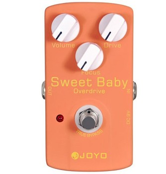 Free shipping JOYO JF-36  Sweet Baby low Drive True bypass Design Guitar effects pedal Stompbox