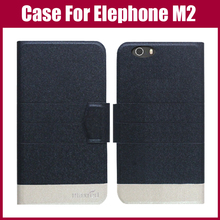Buy Hot Sale! Elephone M2 Case New Arrival 5 Colors Fashion Flip Ultra-thin Leather Protective Cover Elephone M2 Case for $3.90 in AliExpress store