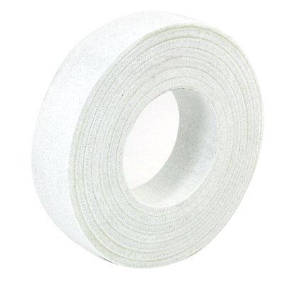 White Wool Felt Glass Polishing Disc Wheel Pad 150mm x 70mm x 35mm