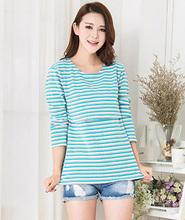 MamaLove Fashion Maternity Clothes Maternity Tops/ t shirt Breastfeeding shirt Nursing Tops pregnancy clothes for pregnant women(Hong Kong)
