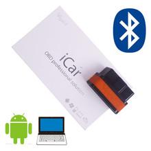 Newest ELM327 Vgate iCar 2 Bluetooth Version ELM327 OBD2 Code Reader iCar2 bluetooth obd2 scanner For Android/ PC(China (Mainland))