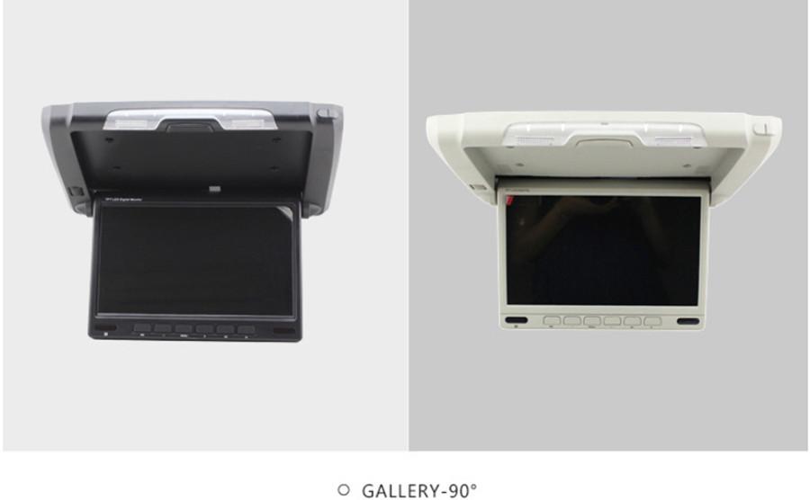 "10.2"" HD LCD Car Flip Down Monitor Overhead drop Auto Flip Down wide screen Monitor car 2 video audio display for car camera dvd"