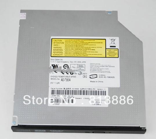 100% New AD-7580A DVD-RW Burner IDE CD DVD Burner Writer Drive(China (Mainland))