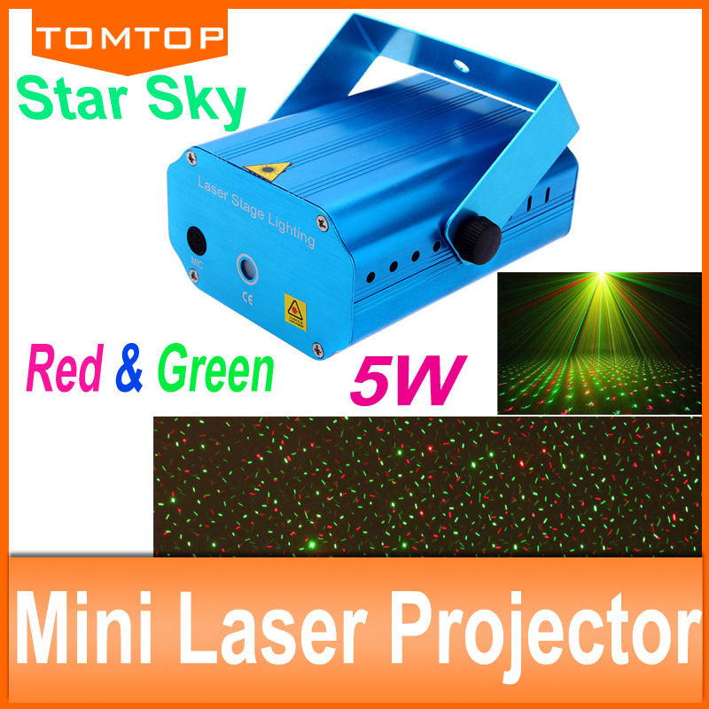2015NEW Free shipping Automatic Voice Control Moving Projector DJ Disco Show Club sky star Laser Light Lighting With Tripod(China (Mainland))