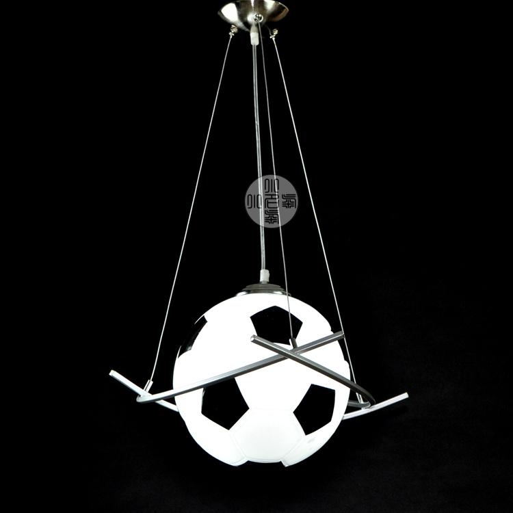 Football Chandelier Modern Minimalist Cartoon Children 39 S