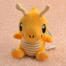 Pokemon Plush Toy Dragonite 16cm Cute Collectible Soft Stuffed Animal Doll Toys Kids Gift Peluche - Jack shop store