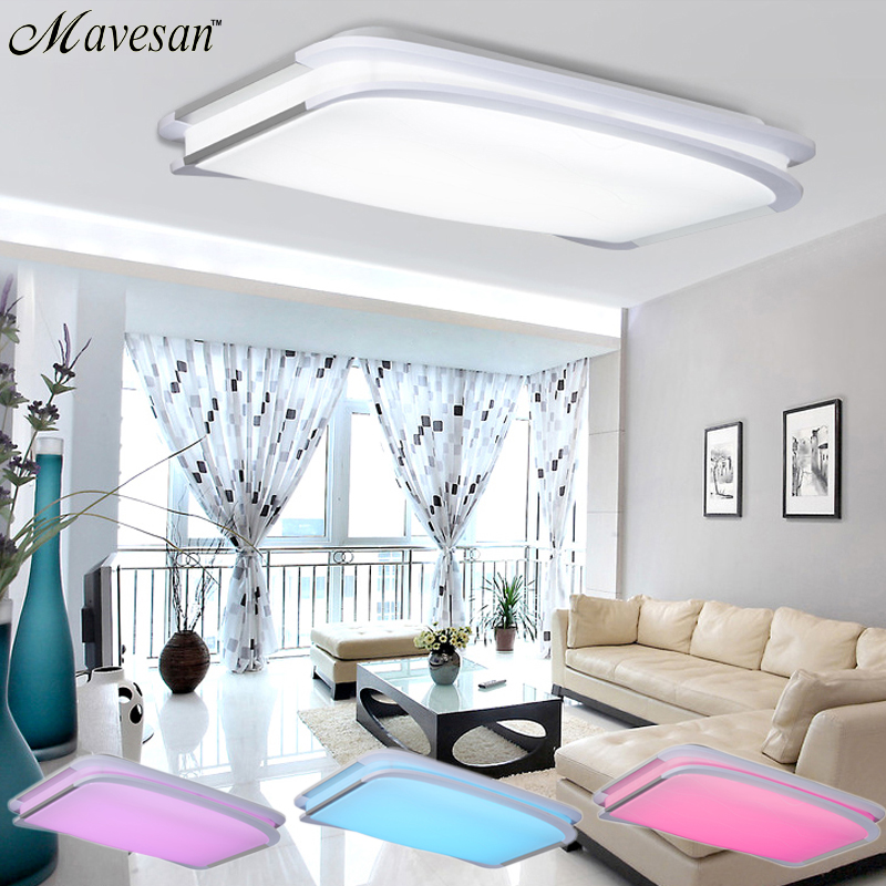 2016 New Modern Rgb Ceiling Light Rgb Cool White Warm White Smart Led Lamp Shade Modern
