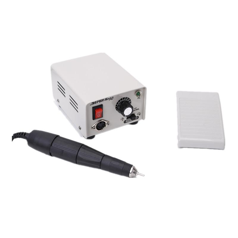 REBUNE 100-240V 65W 35000 Rpm Professional Nail Polisher Tool Snail Art File Bits Manicure Kit Electric Nail Drill Machine(China (Mainland))