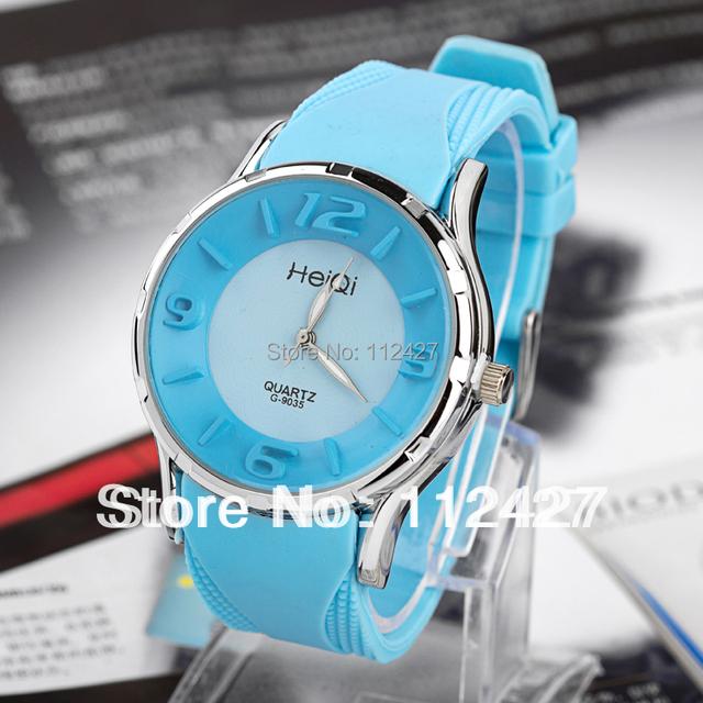 2013 New arrival fashionable quartz watch women dress watch silicon strap watch luxury &casual wristwatch--EMSX13112310