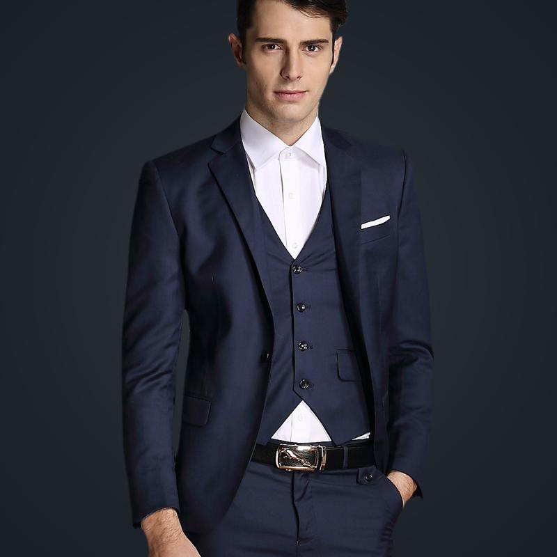 Здесь можно купить  2014 suit male jacket male slim formal wedding dress xy03-p210 triangle set  Одежда и аксессуары