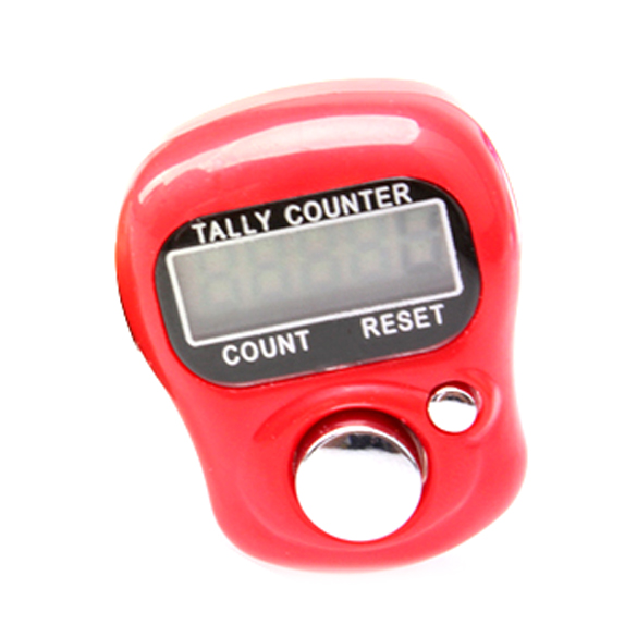 Electronic Digital 5 Digit Ring Tally LCD Counter W BS88(China (Mainland))