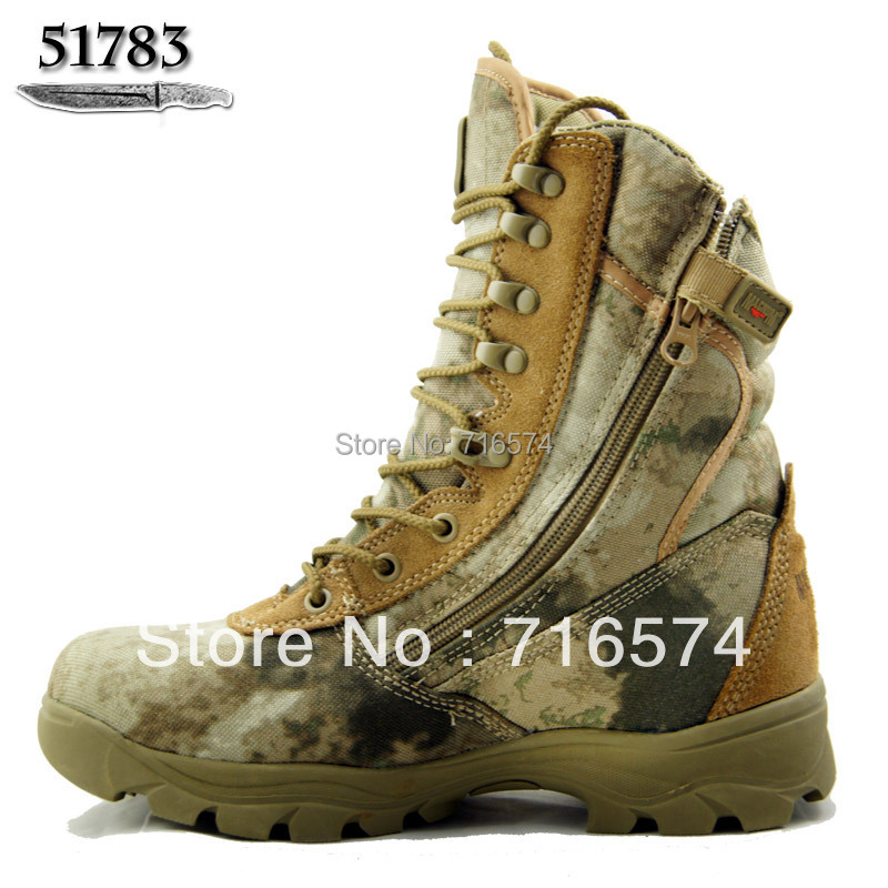 Special Offer Men's Desert Camouflage Military Combat Boots Climbing Hiking Shoes Army Boot Tactical - Beyond Outdoor Products Exclusive Shop store