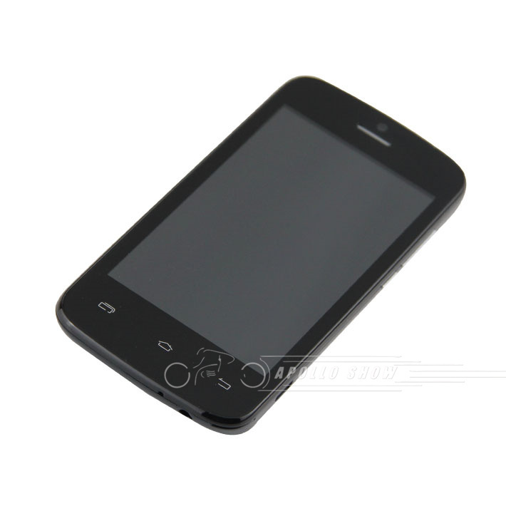 DOOGEE Collo DG100 Black 4.0 inch IPS (800*480) 512MB+4GB MTK6572 Dual Core 1.3GHz  Android 4.2 Cell phones GPS