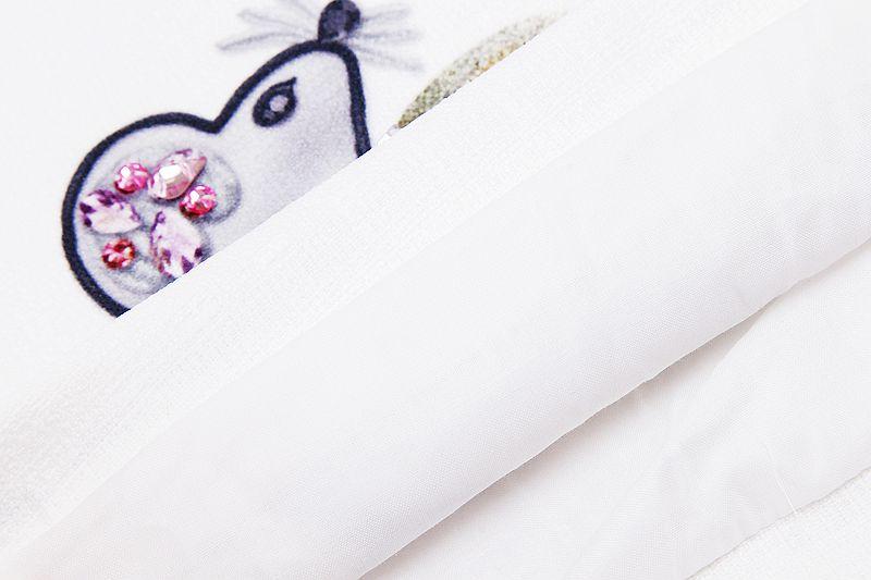 Скидки на Платье Девушка Платье 2016 Летний Стиль Рукавов Печатных Детские Платья Одежда Для Девочек Партия Платье Принцессы Vestidos Нина