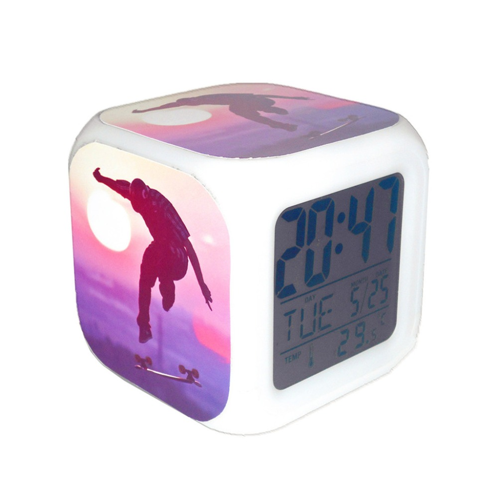 Sports desk calendars promotion shop for promotional sports desk calendars on - Unique alarm clocks for teenagers ...