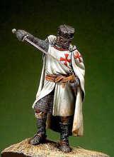 54mm Knight Templar XIII Cent(China (Mainland))