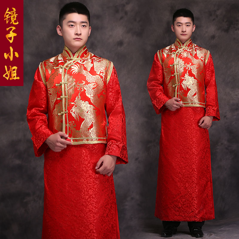 Achetez en gros anciennes traditions de mariage chinois en for Traditional chinese wedding dress hong kong