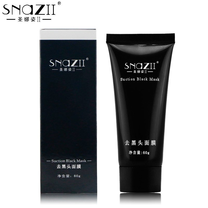SNAZII Black Mask Face Mask Blackhead Remover Deep Cleansing Purifying the Black Head Acne Treatments Facial Mask Skin Care(China (Mainland))