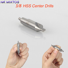 Buy 1Pcs HSS 3/8'' Center 60 Degrees Spotting Drill Bits Combined Countersink High Speed Tool for $1.66 in AliExpress store