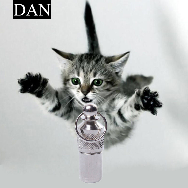 Hot Sale 1 Piecess Dog Tag Collar Anti Lose Pet Puppy Cat Name Id Address Secret Barrel Tube(China (Mainland))