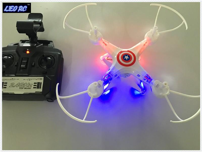 LEO RC good quality mini X5C X5W 4CH 2.4G RC Drone (with HD wifi Camera)