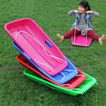 2015 New Arrive Ship Type Sledge Winter Outdoor Adult Children Snowboard for Snow Meadow Skiing Skateboarding Game Equipment (China (Mainland))