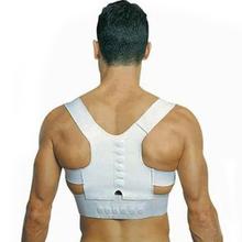 New Men Women Magnetic Posture Support Corrector Back Belt Band Pain Feel Young Belt Brace Shoulder for Sport Safety Brand New(China (Mainland))