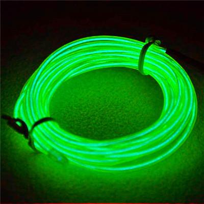 Здесь можно купить  Flexible Neon Light 8Colors 3M EL Wire Rope Tube with Controller Christmas Decoration LED Light 20pcs/lot L020 Free Shipping  Свет и освещение