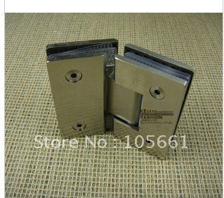 free shipping304 stainless steel bathroom clip shower hinge glass hinge135 degrees glass clip