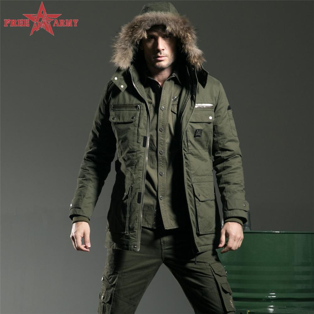 4xl Mens Coats winter jacket men outdoor Washing cotton Men Coat Casual army green brand tactical winter jacket MS-6211A Z5(China (Mainland))