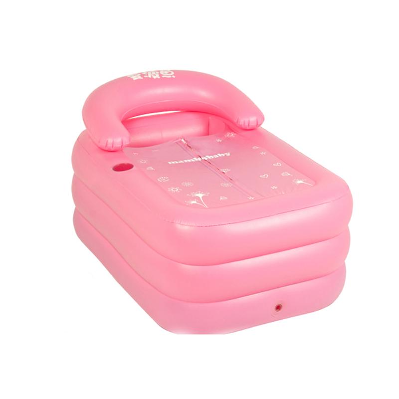 Portable baby bath bathtub plastic inflatable bath tub folding inflavel inflatable SPA 160cm*90cm*50cm + Foot Air Pump(China (Mainland))