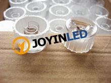 Buy Free 50pcs 20mm Holder 45 (5/30/90/120)Degree LED Lenses Black/White holder transparent Reflector Collimator lens for $7.05 in AliExpress store