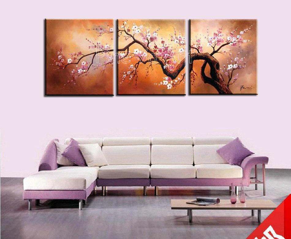 Pink Abstract Canvas Art Canvas Wall Art Pink