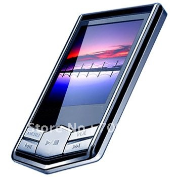 TFT Screen MP4 Music Player built in 2GB memory Multi Color + Free shipping(China (Mainland))
