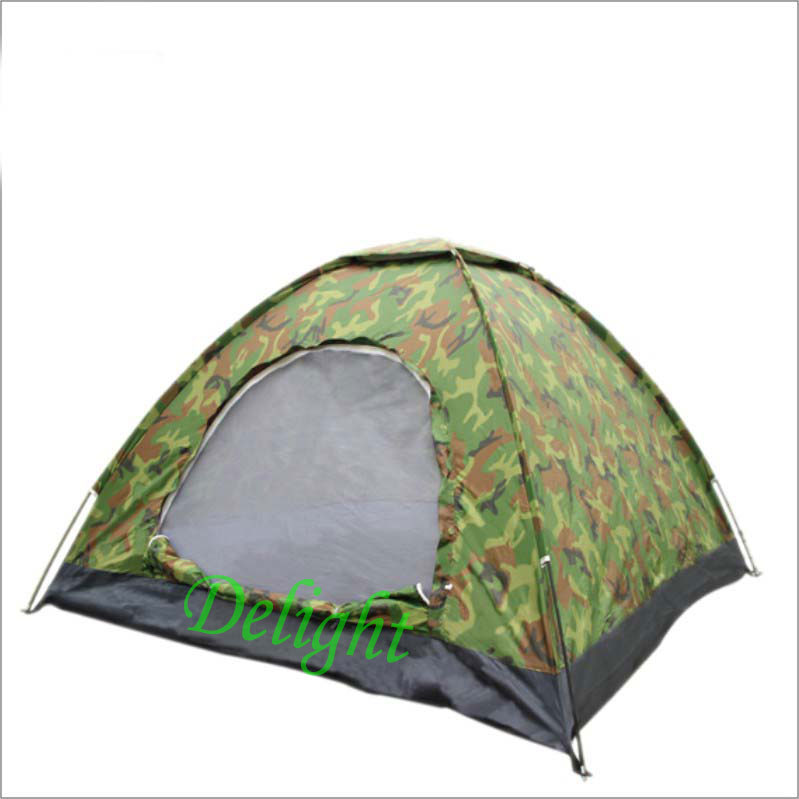 Waterproof UV Army Green Fishing Tent Outdoor Camping Hexagonal 1-2 Persons Portable Travel Sea Beach - Delight Technology Co., Ltd. store