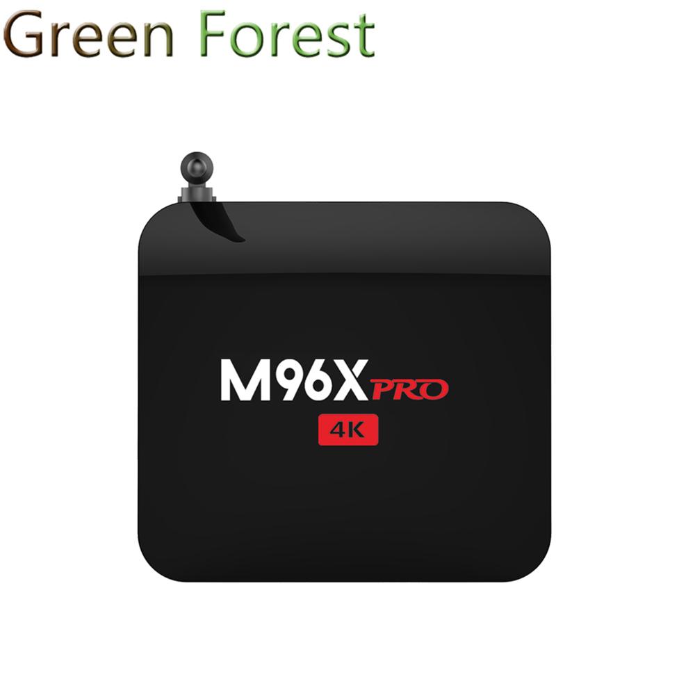 M96X Pro Android 6.0 TV Box S905X Quad-core 2G/16G 2.4GHz WIFI KODI 16.1 Bluetooth 4K 1080P IPTV 3D Media Player Smart TV Box(China (Mainland))