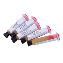 Newest Worldwdide 5pcs Solder Soldering Paste Flux Grease RMA-223 10cc for LED BGA SMD PGA(China (Mainland))