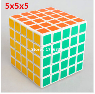 ShengShou neocube 5x5 Speed Matte 5x5x5 Stickers Magic Cube Puzzles Game Magico Cubo(China (Mainland))