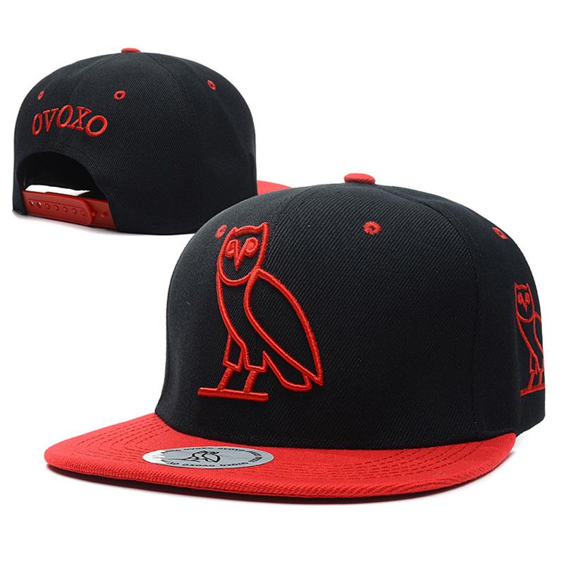 Fashion Hip Hop Flat Hat Embroidery Owl Snapback Baseball Caps Men Women Adjustable Outdoor Sports Caps AA425-CP425(China (Mainland))